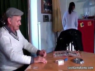 Zreli francozinje sult tries najstnice muca