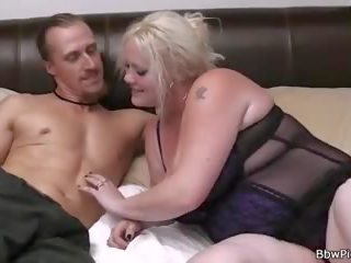 Groot seks met blond-haired bbw buur, porno f6