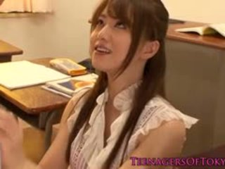 Jaapani cougar õpetaja perses poolt tema õpilane