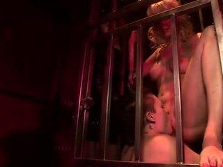 mutisks sekss, licking maksts, lielas krūtis