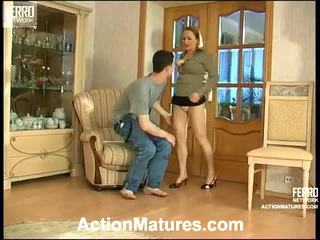 Sara And Jerome Seductive Mommy Inside Action