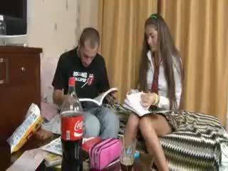 Orosz pár penetrate után iskola