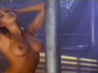 erotický, žena, milf