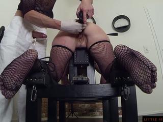 Bdsm anaal slaaf double opleiding van de littel sunshine milf