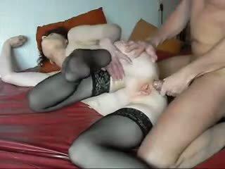 Guy e brutto nonnina primo anale