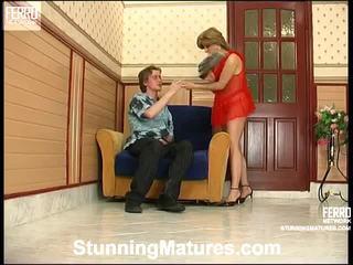 Alana và tobias seductive mẹ onto video