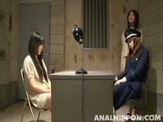 japanse, gevangenis, aziatisch