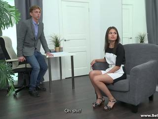 Sell Your GF - Fucked by the Husband's Boss: Free Porn bf