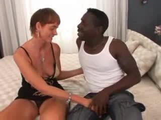 Harig oma interraciaal anaal