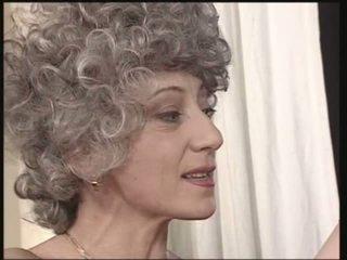 nenek, jatuh tempo, anal