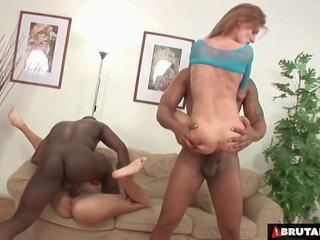 Brutalclips - monster cocks rip beide sie holes: hd porno bc