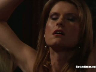 Four Naughty Mistresses Whipping One Slave: Free HD Porn 66