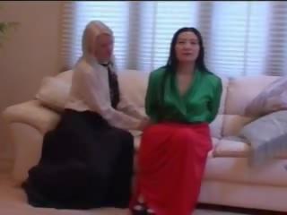 homo, lång, kjol