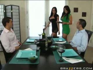 Panas seks dengan empat orangan dengan audrey bitoni dan savannah stern video