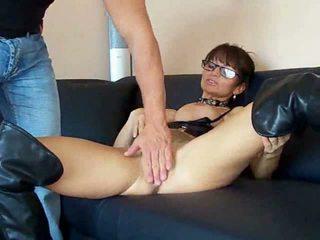 anal sex, cum, glasses