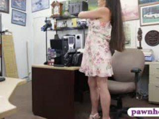 Ex dominatrice pawns suo equipment e nailed in il retrobottega