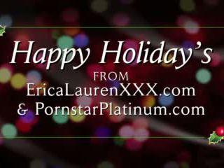 Erica Lauren Gets a New Butt Plug for Christmas