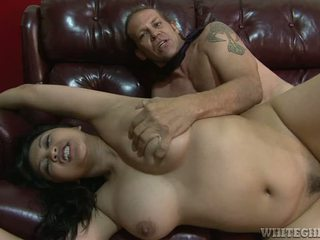 Chubby Asian Employee Gets Her Boss Cock As A Promotion