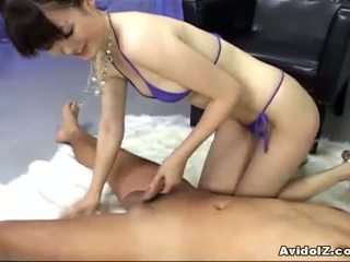 看 日本 大, 額定 亞洲女孩 不錯, 理想 日本性愛 實