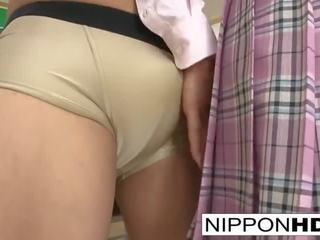 Japānieši skolniece ir fucked un creamed uz the klasesistaba