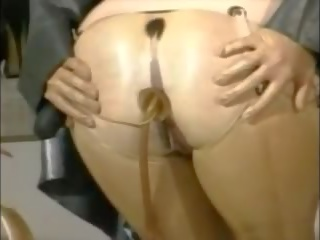 femdom, dildo, lateksa