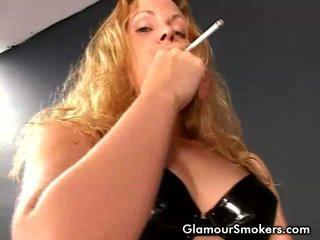 merokok, video, merokok fetish