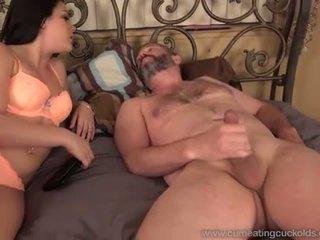 brunette, husband, cuckold