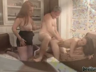 hardcore sex, groupsex, fucked hard by big cook