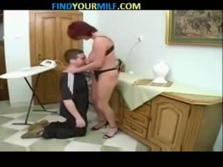 俄 妈妈 和 儿子 家庭 seductions 09