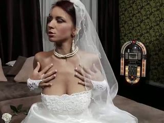 young, old, bride