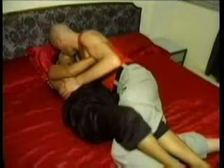 Indian horny village babe fucking with foreginer in hotel ro