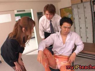 meniup pekerjaan, groupsex, japanese