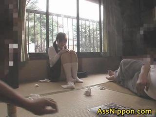 japonés, assfucking, sexo anal