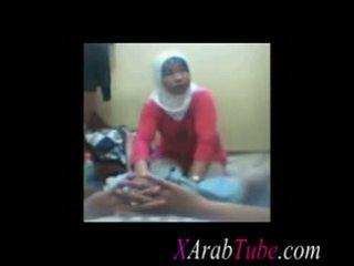 Hijab Cock Massage