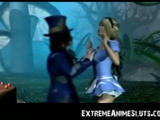 3D Alice in Pornland!