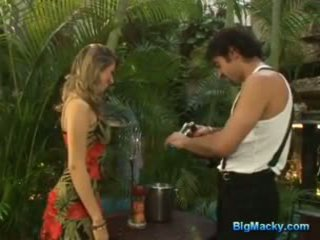Big macky fucking a hot latina and giving anal pleasure