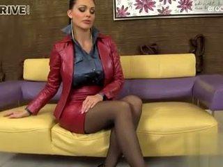 bruneta, orálny sex, deepthroat
