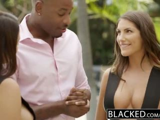 BLACKED August Ames and Valentina Nappi Share BBC - Porn Video 021