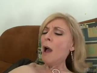 Mark sure knows how to please reged milfs like nina hartley!