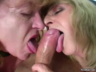 Two babičky jeden čurák: volný skutečný babičky porno porno video ae