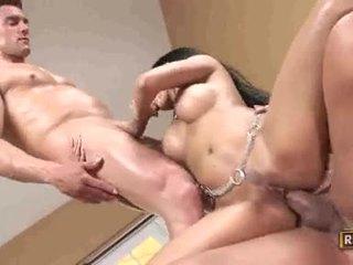 brunette, hardcore sex, pijpen