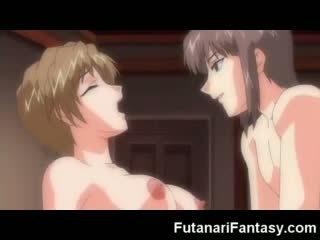 Toon Futanari Cumshot!