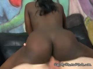 grote borsten, zwart en ebony, interraciale