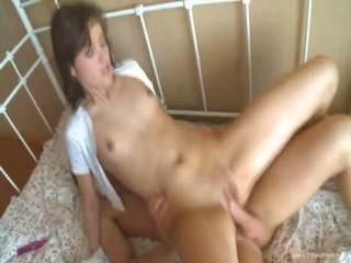 Neat Teen Girl Gets A Load