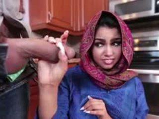 Brunette Arab Ada Is Filled With Cum