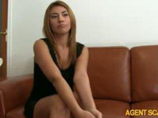 heetste brunette een, pijpbeurt, echt anaal heet