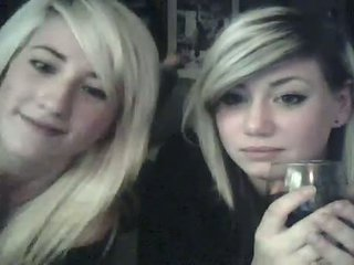 Blonde Lesbos During Nude Cam To Cam Chat