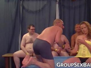 grupu sekss, blowjob, suniski