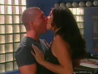brunete, cum, boobs