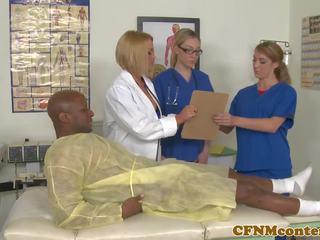 CFNM Nurses Have Hardcore Hospital Room Orgy: Free Porn e7
